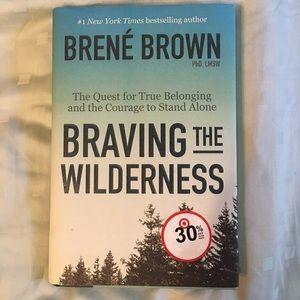 Best seller Braving the Wilderness by Brene Brown